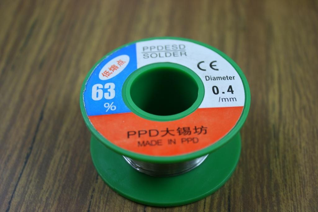 0.4mm 63/37 Tin/Lead Solder Wire