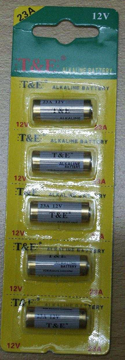1 pc 5 pieces A23 23A MN21 RV08 L1028 ALKALINE 12V Battery