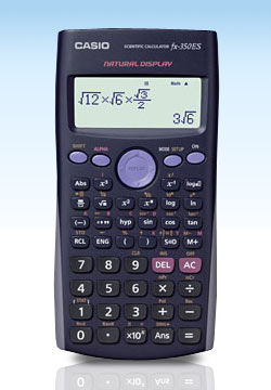 <B>1 pc Casio FX-350ES Scientific Calculator-With Natural Text display</B>