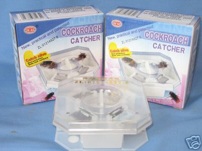 1 pc COCKROACH CATCHER-Safe & Sanitary Roach Bug Control