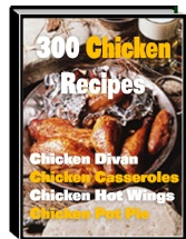 1 pc ebook - 300 Mouthwatering Chicken Recipes