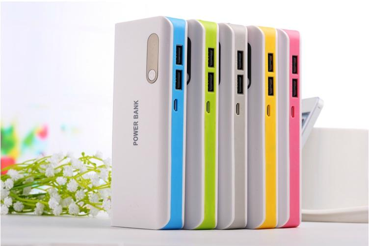 100% 16800mah High Capacity Power Bank~! Pink/Blue/Green/Yellow