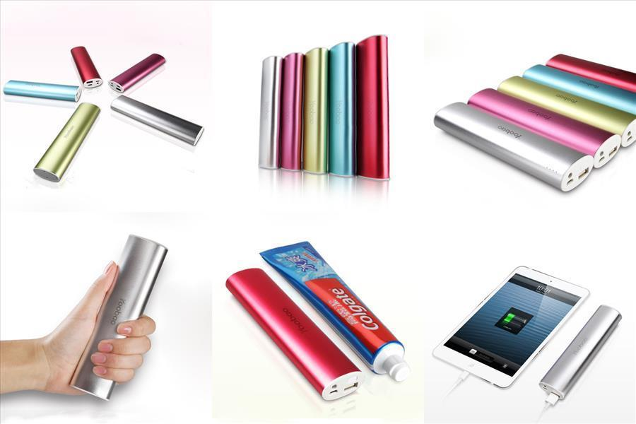 100% Seal Box Yoobao Power Bank YB-6014 Magic Wand 10400mah(Champagne)