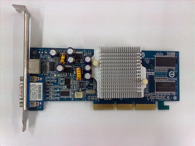 128MB G-Force MX4000 AGP Graphic Card 090111