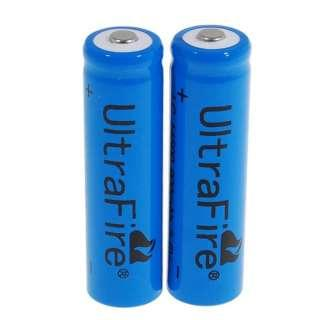 18 pcs 14500 1200mAh (AA Size) Li-Ion Batteries