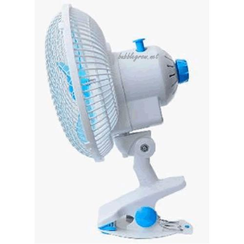 180mm (7') Oscillating 2 Speed Clip on Fan with Cover
