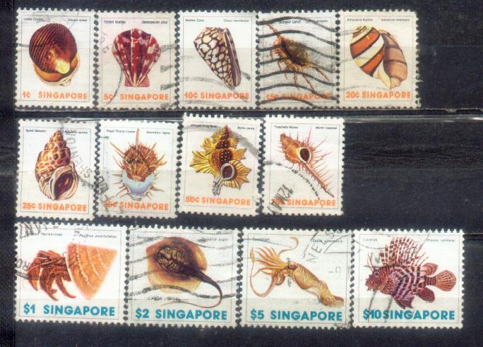1977 Singapore Definitive Complete Set