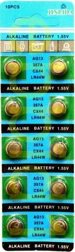 1pcs (10 pieces) AG13/357A/LR44/SR44 button cells-New