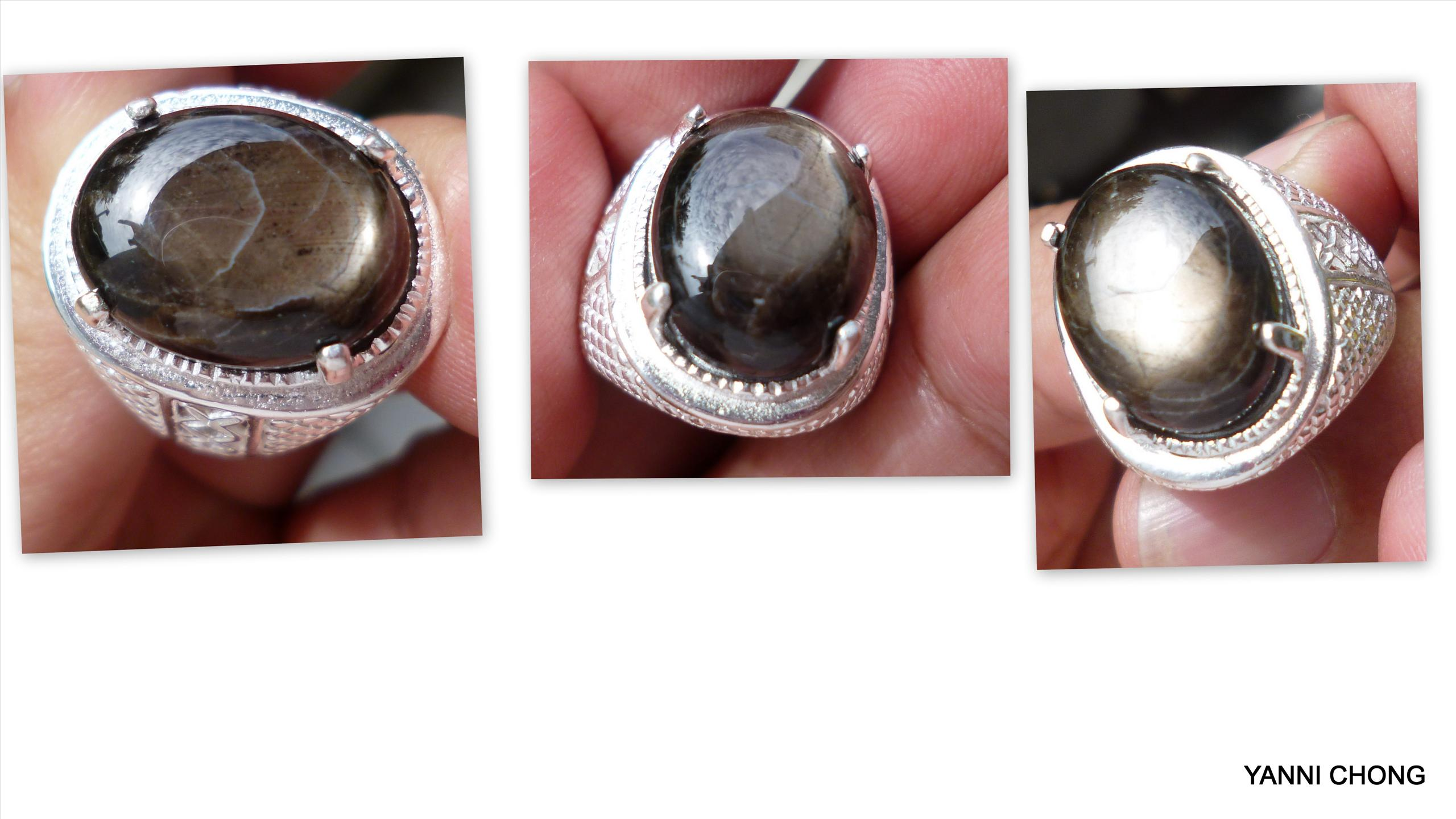 20  CTS  BURMESE  BLACK  STAR  SAPPHIRE CABO