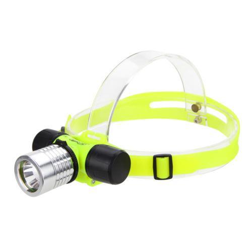 200lm Cree Led Scuba Diving Headlamp Underwater Snorkeling Flashlight