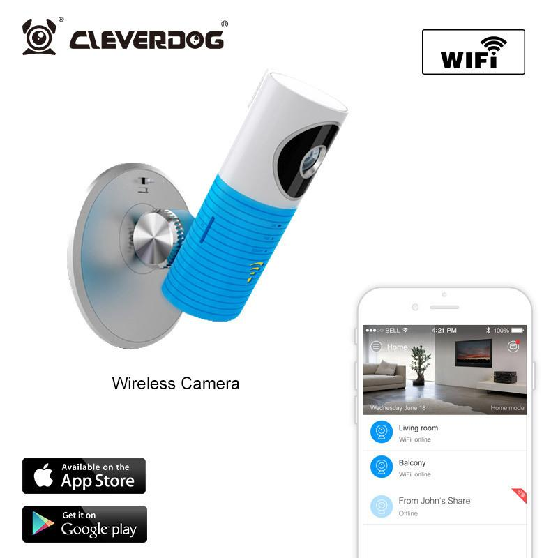 2017 Hot Clever Dog Wireless Wifi Baby Monitor Ip Camera Nightvision