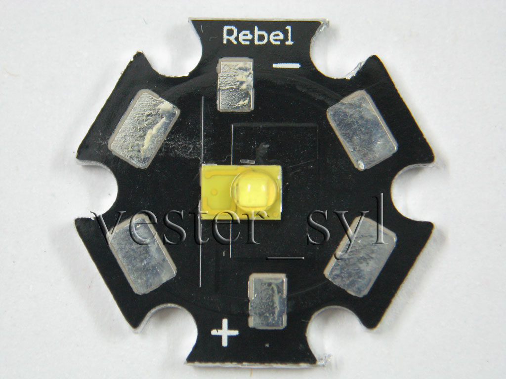 3pcs LUMILEDS LUXEON Rebel Star Emitter
