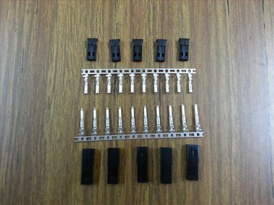 5 Sets (5pairs Female & 5pairs Male) JST Connectors New