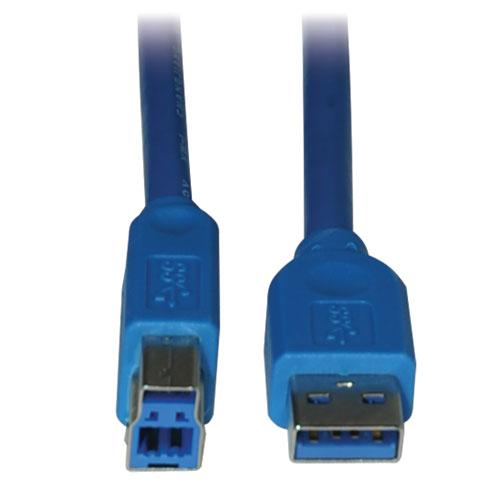 5# Tripp Lite 1.8 meter USB 3.0 SuperSpeed Device Cable (AB M/M).