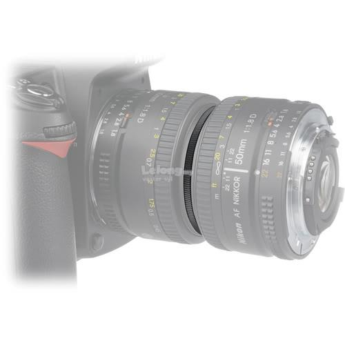 52 to 58mm Male to Male Reverse Macro Coupling adapter ring