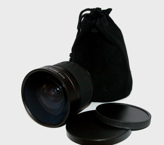 58mm 0.21X Wide Angle Fisheye Lense