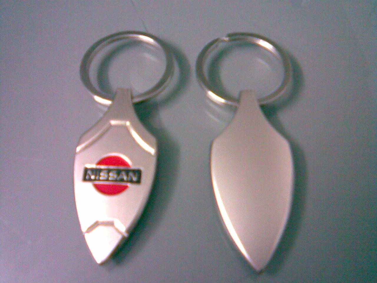 ABKSM-N002 Nissan Alloy Zinc Heavy Solid type Pendant Key Chain