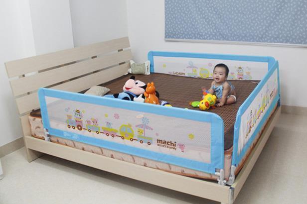 Ограждение на кровать для детей своими руками 93
