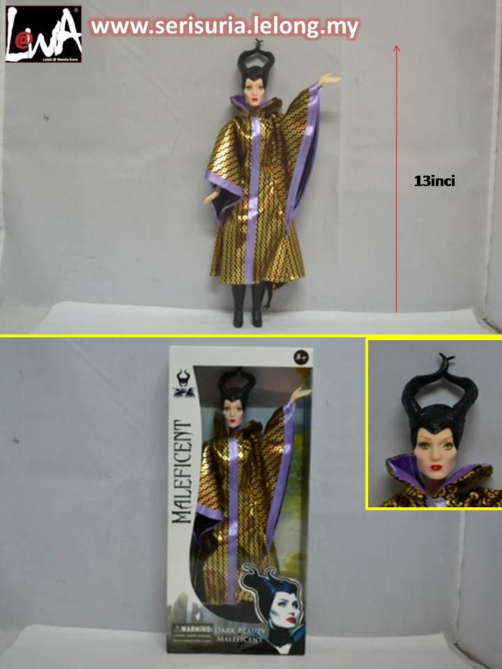 ANAK PATUNG,DOLL,BARBIE,MALEFICENT DILELONG MURAH..(2)