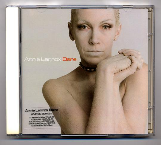 Annie Lennox 'Bare' Limited Edition CD+DVD