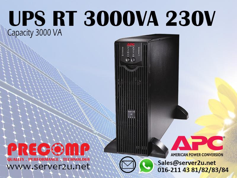 apc smart-ups rt 3000va rm 230v pdf