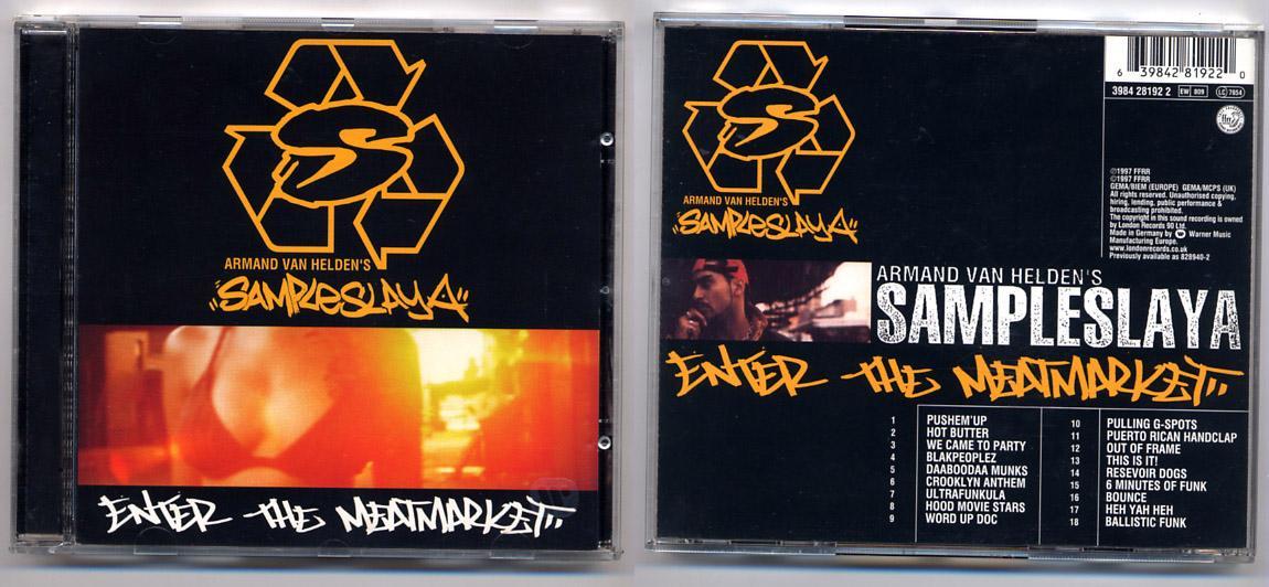 Armand Van Helden 'Sample Slaya' Hip Hop CD