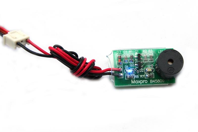 Battery Voltage Monitor With Light & Sound Warning (2S)