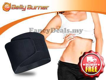 Slimming Weight Loss Belt Belly Burner Burn 2 Times Calorie End 12 5 2017 42 Am