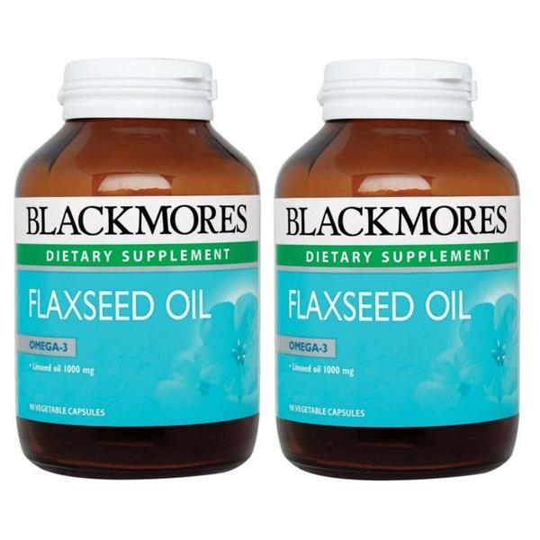 BLACKMORES Flaxseed Oil 90s TWIN PACK