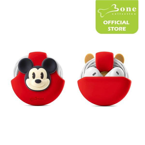 Bone Collection Cord Pocket Earphone/Cable Organizer - Mickey Mouse