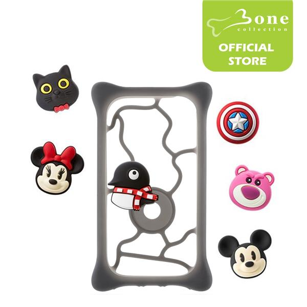Bone Collection Universal Phone Case Bubble Tie-L Size (5.0' to 6.4')