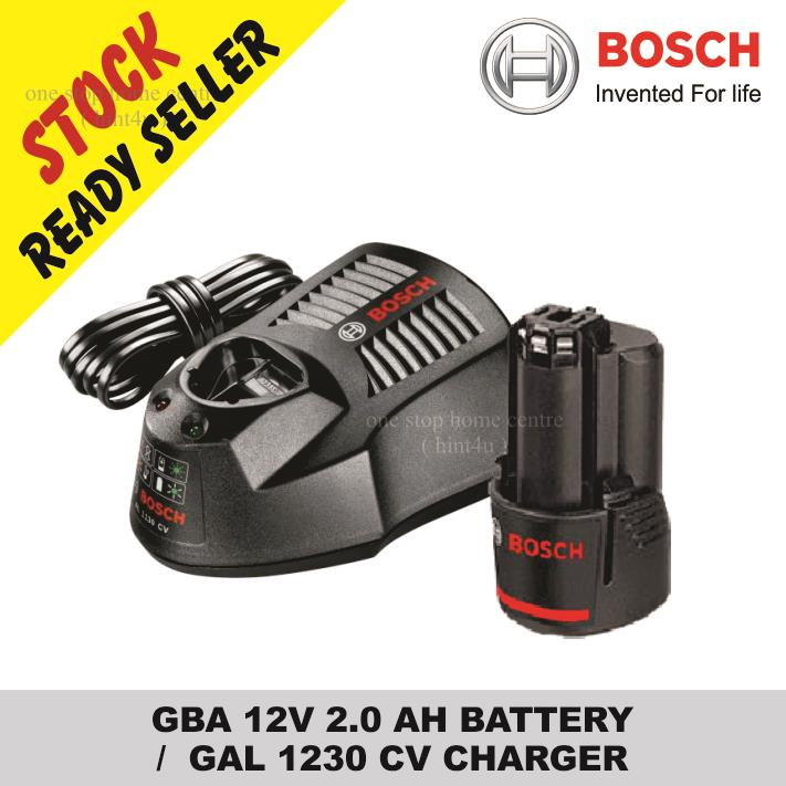Bosch Car Battery Charger Malaysia