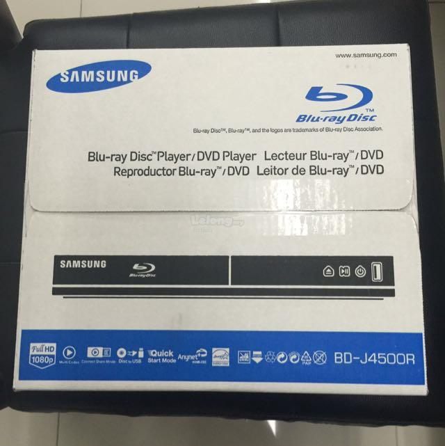 Brand New Samsung Blu Ray DVD Player Bluray J4500