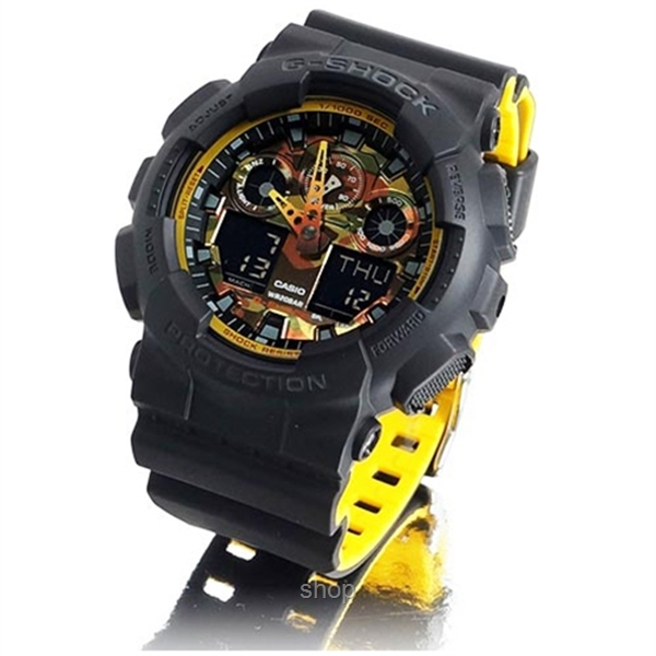 4626033e40f Casio G-Shock GA-100BY-1A Special Color Series Ana-Digital Watch