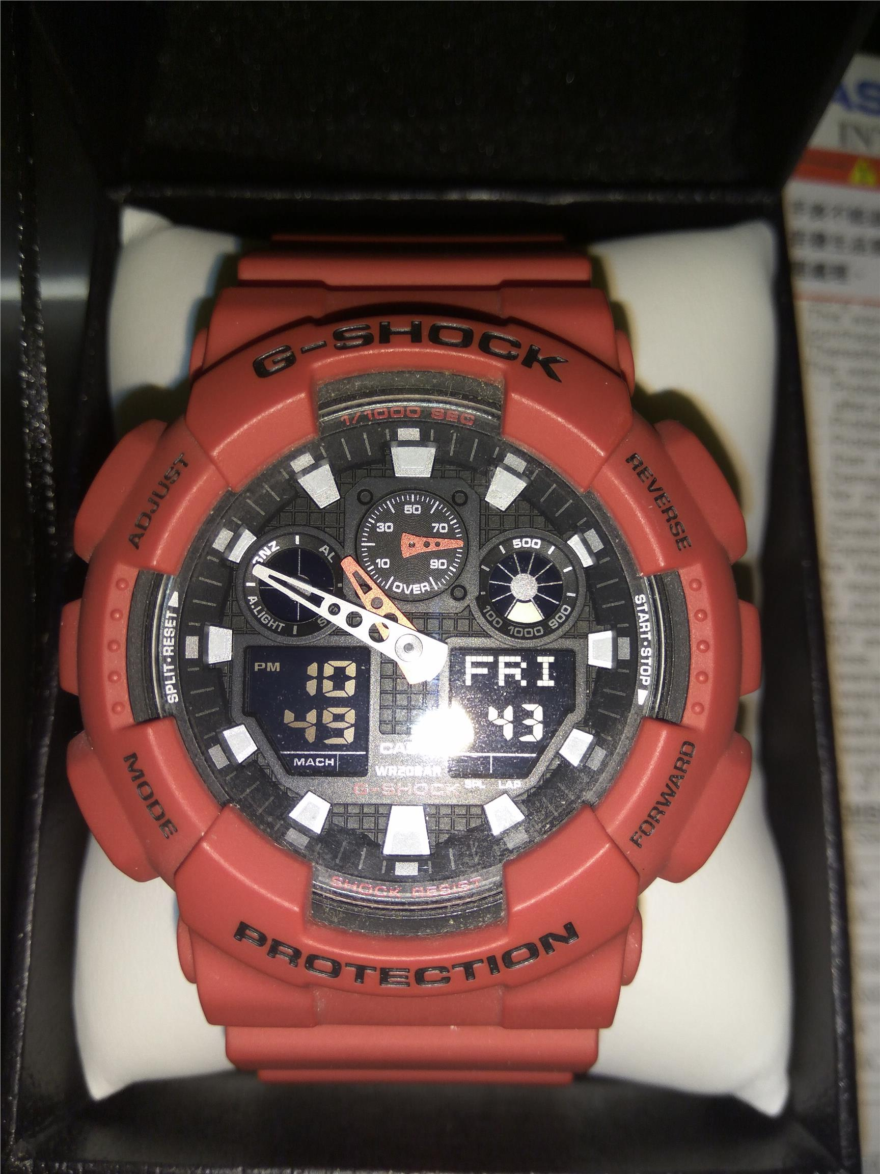 Casio G-shock Japanese Limited [ Ga-100b-4ajf ] (Buy from Japan )
