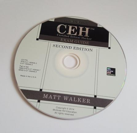 CEH Cert CD media Guide Bid 1.00