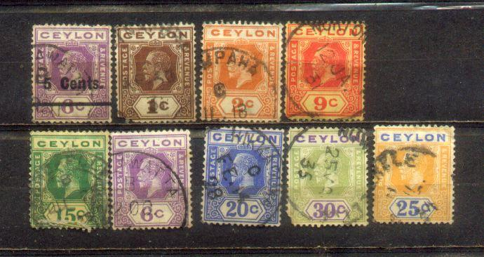 Ceylon Old Stamps Lot  3