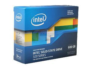 CHEAPEST Intel 320 series 600GB SATA II Solid State Drive (SSD).