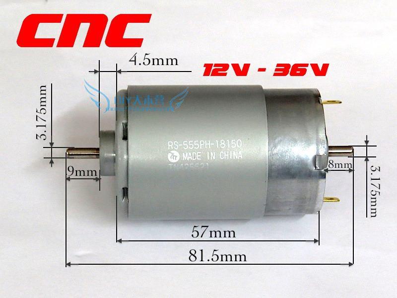 Cnc 12v 36v Rs 555 Mabuchi Motor C End 9 23 2016 7 57 Pm