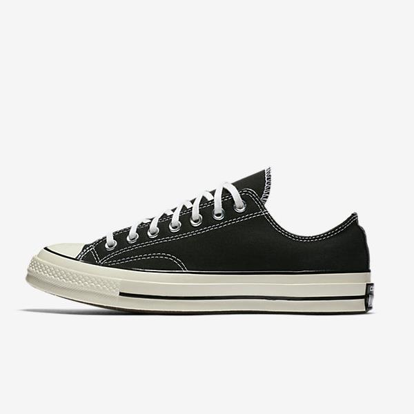 CONVERSE CHUCK TAYLOR ALL STAR '70 LOW TOP BLACK