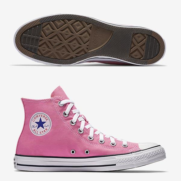 CONVERSE CHUCK TAYLOR ALL STAR HIGH TOP PINK