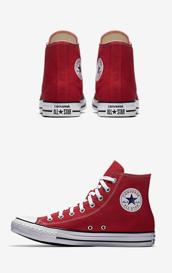 CONVERSE CHUCK TAYLOR ALL STAR HIGH TOP RED