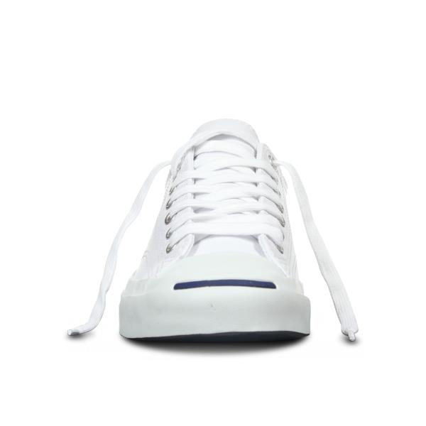 CONVERSE JACK PURCELL CORE LEATHER LOW TOP WHITE