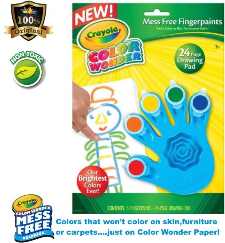 Crayola Color Wonder Mess Free Fingerpaints 15 Off