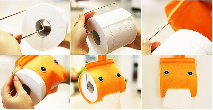 Как можно сделать держатель для туалетной бумаги своими руками 70