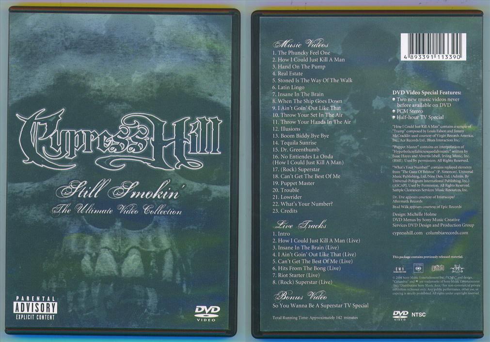 Cypress Hill - Still Smokin' DVD, Complete Music Video