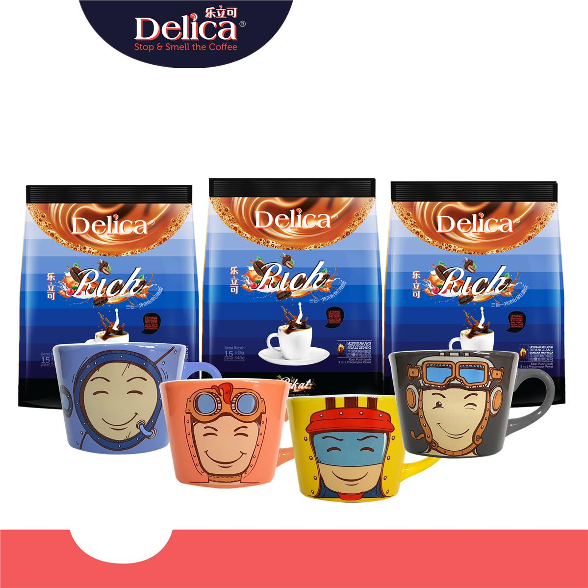 [Delica Coffee] Rich (15 x 36g) x 3 packs