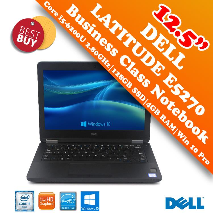 Dell Latitude E5270 Core i5-6200U 12.5' Business Class Notebook Offer!
