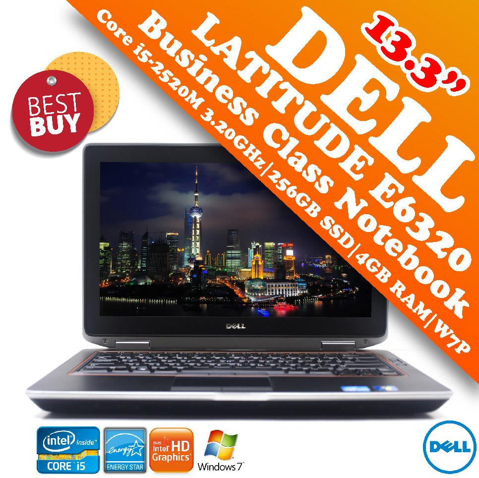 Dell Latitude E6320 Core i5 Business Class Notebook Special Offer Deal