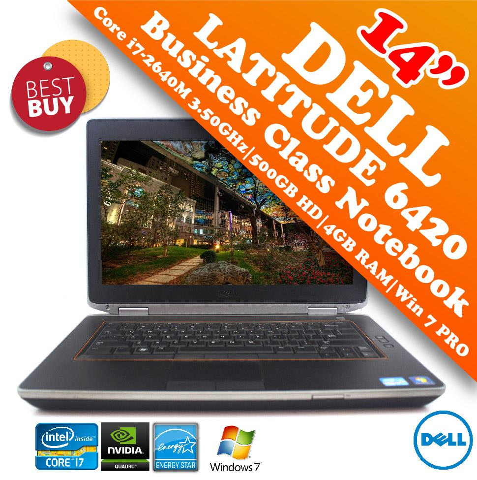 Dell Latitude E6420 Core i7-2640M Business Class Notebook Special Deal